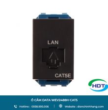 Ổ cắm data WEV2488H-CAT5